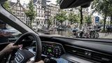 Mit dem Audi E-Tron kommt man in jede Innenstadt