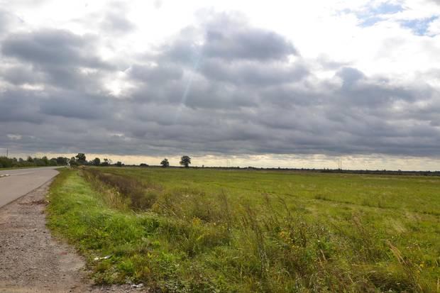 Keine Häuser, kaum Menschen: Die Landschaft abseits der ostpreußischen Städte