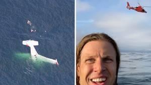 David Lesh ist mit seiner Beechcraft Bonanza über dem Pazifik abgestürzt.