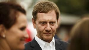 Sachsen: Mit Regierungschef Michael Kretschmer (CDU) sind derzeit 63 Prozent der Befragten zufrieden oder sehr zufrieden