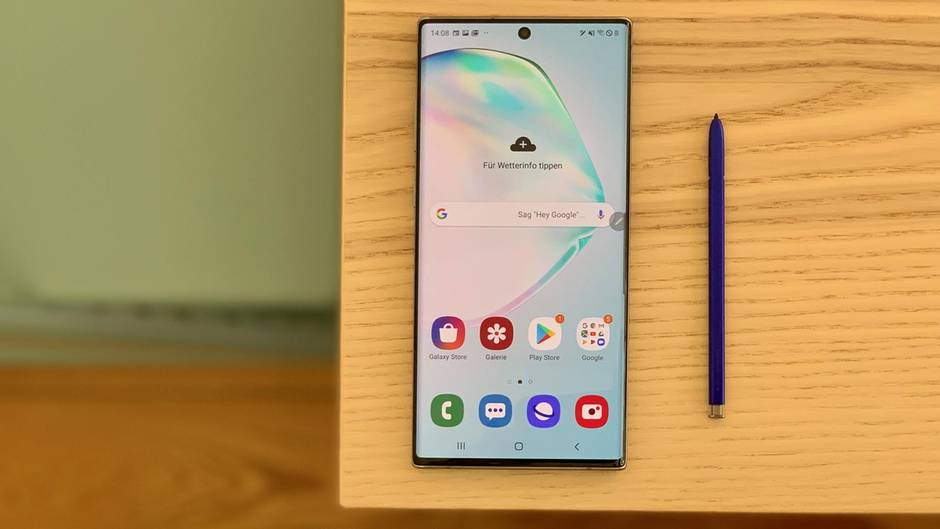 galaxy note 10 im test das beste samsung smartphone seit. Black Bedroom Furniture Sets. Home Design Ideas