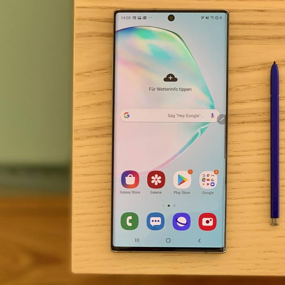 Größer, schneller, durchdachter: Galaxy Note 10+: Das beste Samsung-Smartphone seit Jahren