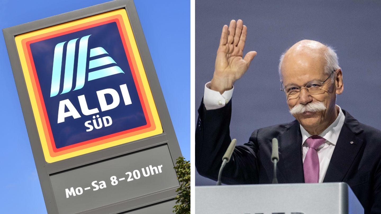 Dieter Zetsche bei Aldi Süd