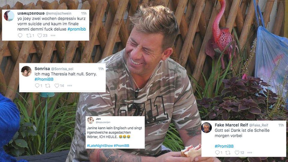 So reagieren die Twitternutzer auf das bevorstehende  PromiBB-Finale