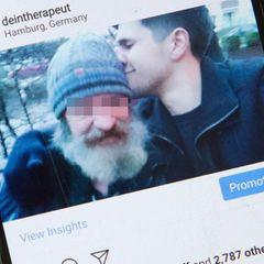 Via Twitter fand ein Mann seinen Vater wieder: als Alkoholiker