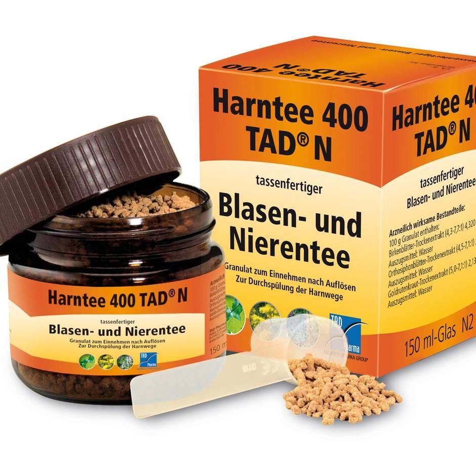 Rückrufe und Produktwarnungen: TAD Pharma ruft Harntee 400 TAD N zurück