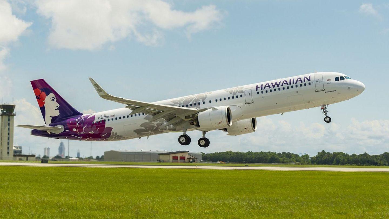 Airbus A321neo beim Start