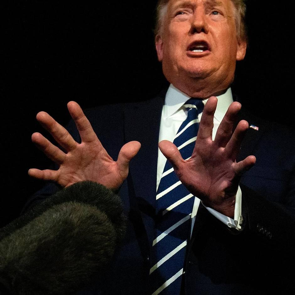 """Handelskrieg-Bemerkung: Es war nur Sarkasmus: Donald Trump ist nicht der """"Auserwählte"""""""