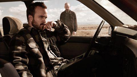 Breaking Bad: Aaron Paul als Jesse Pinkman und Bryan Cranston als Walter White