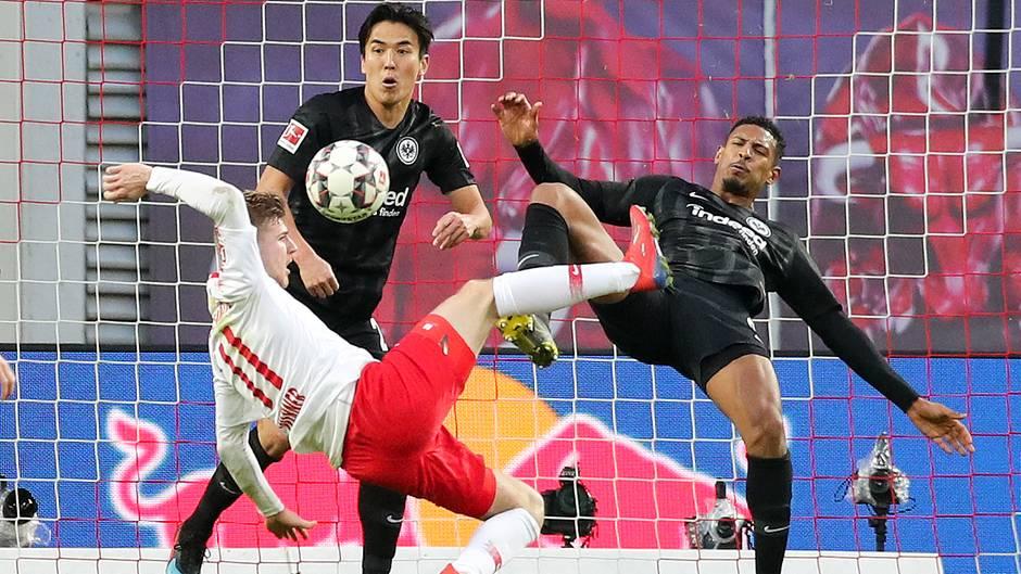 Werner Leipzig gegen Frankfurt