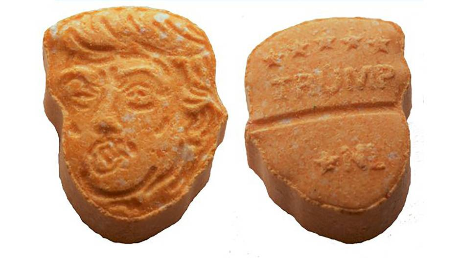 Donald Trump Ecstasy Pille