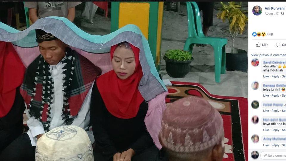 Indonesien: Mann heiratet zwei Frauen gleichzeitig