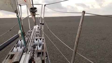 Segelschiff auf dem Pazifik