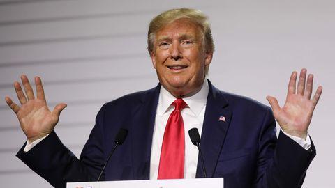 Donald Trump bei G7 Gipfel ungewohnt zahm