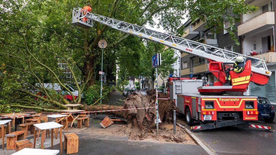 Wetter in Deutschland: Heftige Gewitter wüten in Teilen Deutschlands – auch heute Unwetter möglich