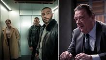 """Mit dem Rap-Drama """"Skylines""""(links) und dem Verhör-Thriller """"Criminal: Deutschland"""" hat Netflix gleich zwei deutsche Eigenproduktionen in petto"""