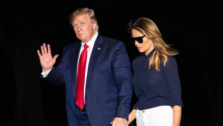 Trump und Melania