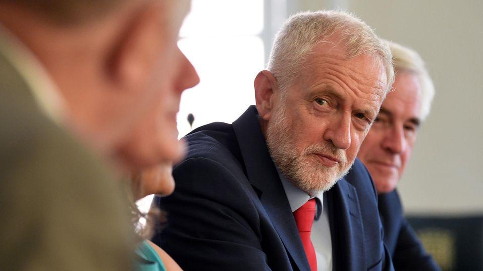 Der britische Oppositions- und Labour-Chef Jeremy Corbyn