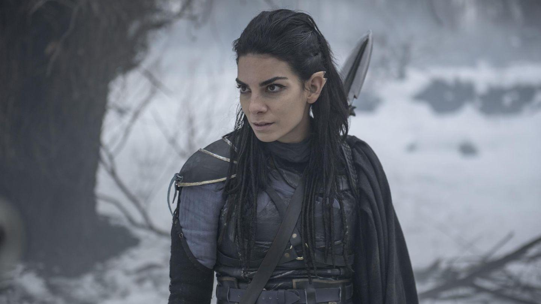 "Lilli Hollunder als Rebb in der US-Serie ""The Outpost"""