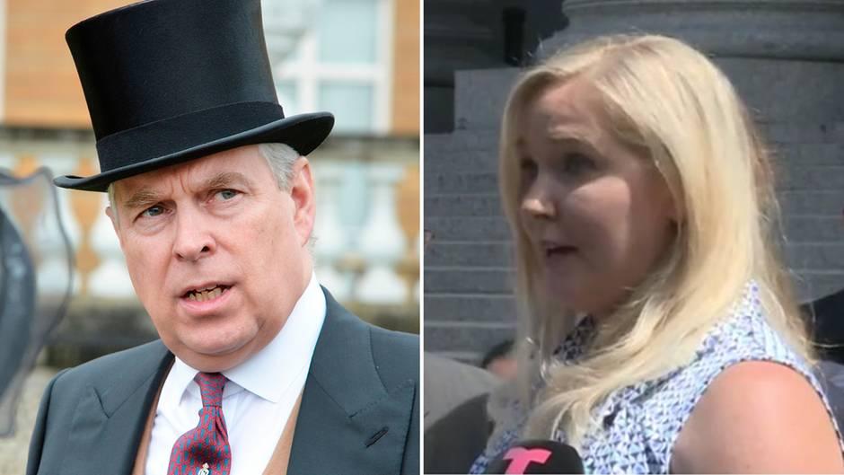 Treffen mit Epstein-Opfer?:Prinz Andrew kann sich