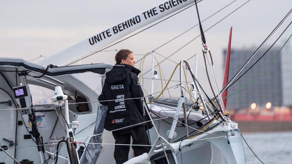 Nach Atlantik-Überquerung: Klima-Protest in den USA: Greta will vorm Weißen Haus streiken