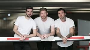 """Mirko, Lars und Micha (v.l.) machen seit September 2018 den Podcast """"schwanz & ehrlich"""""""