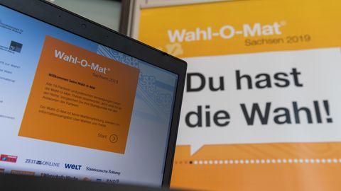 Wahlomat Landtagswahlen Sachsen und Brandenburg