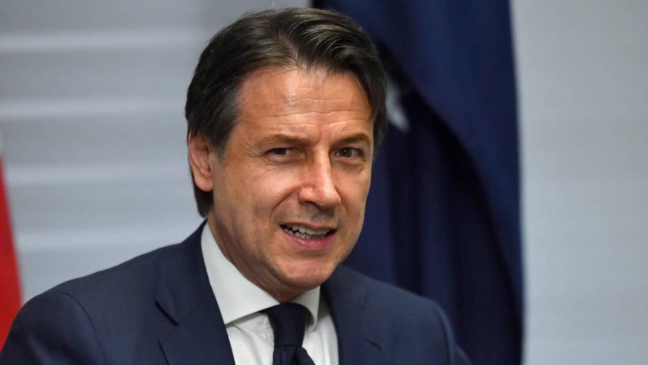 Italien Regierung Aus Pd Und Funf Sterne Steht Conte Soll