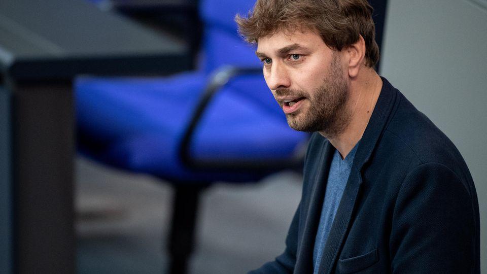 Stefan Gelbhaar im Deutschen Bundestag