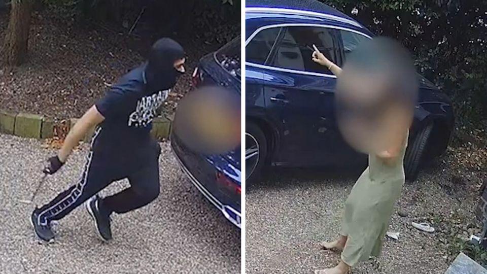 Autodiebstahl verhindert: Frau schlägt Angreifer in die Flucht