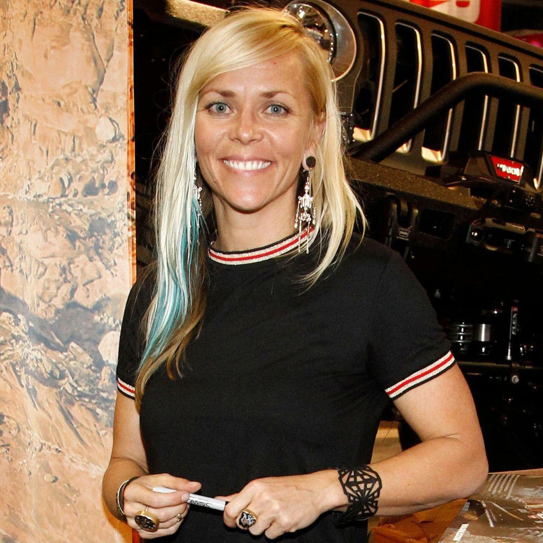 Jessi Combs Schnellste Frau Auf Vier Radern Stirbt Bei Neuem Rekordversuch Stern De