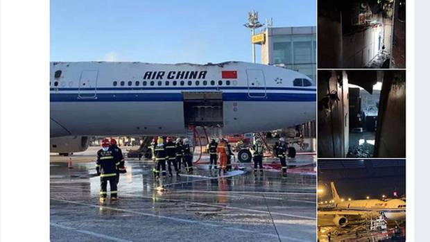 Der Airbus A330 von Air China