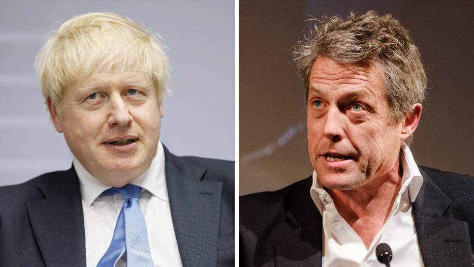 Boris Johnson Hugh Grant