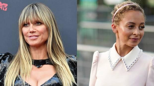 Heidi Klum und Nicole Richie stehen für eine Amazon-Serie gemeinsam vor der Kamera