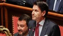 Matteo Salvini und Giuseppe Conte