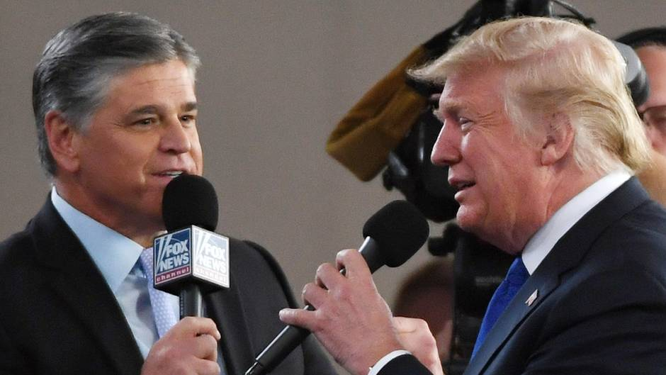 Donald Trump und Sean Hannity