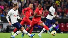 Bayern München gegen Tottenham Hotspur (hier bei einem Spiel am 31. Juli 2019)