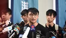 Hongkonger Aktivisten-Sprecher Isaac Cheng
