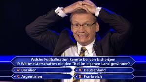 """Günther Jauch bei """"Wer wird Millionär?"""""""