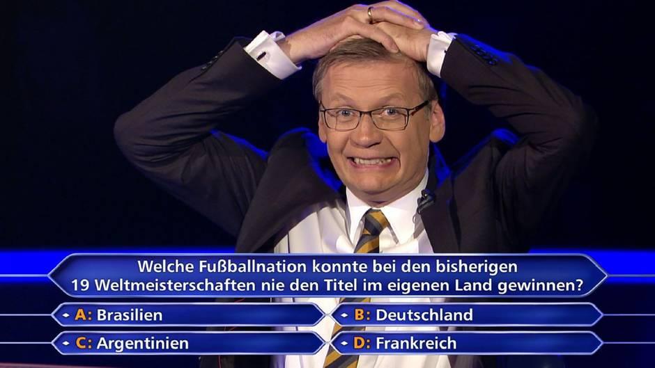 Wer wird Millionär: Million gewonnen - weil ER die Frage kannte