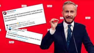 Jan Böhmermann kandidiert für den SPD-Vorsitz