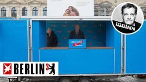 AfD-Bundestagsfraktionschef Alexander Gauland spricht in Dresden