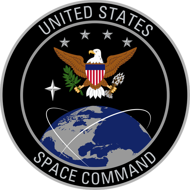 Siegel des neuen United States Space Command