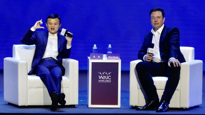 Im Gespräch mit Tesla-Chef Elon Musk forderte Jack Ma die 12-Stunden-Woche