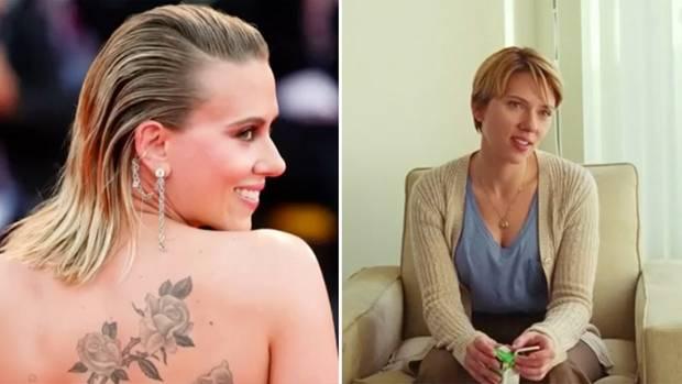 Collage: Scarlett Johansson