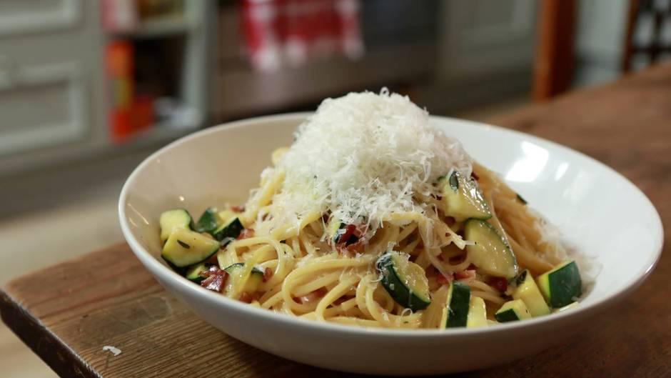 Einfache Küche: Spaghetti Carbonara für Feinschmecker