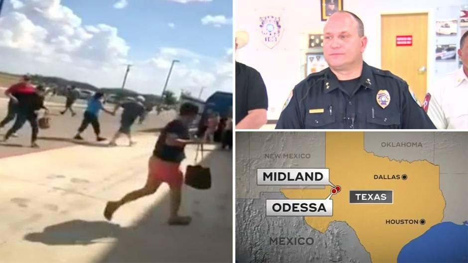 Gewalttat in den USA: Tote und Verletzte bei Amoklauf in Texas: Polizei erschießt Täter