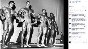 Arnold Schwarzenegger und Franco Columbu