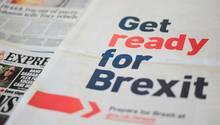Die britische Regierung hat schon mal ganzseitige Anzeigen geschaltet, um die Bevölkerung auf den Brexit vorzubereiten