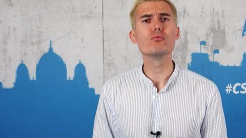 CSU-Youtuber Armin kommt bei den Zuschauern nicht gut an